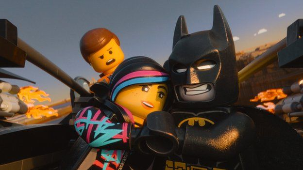 A scene from The Lego Movie