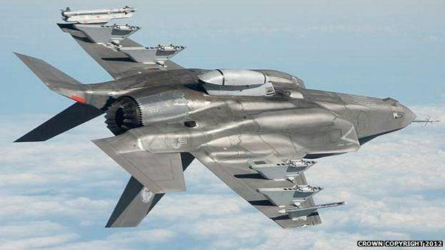 An F-35B Lightning II in flight