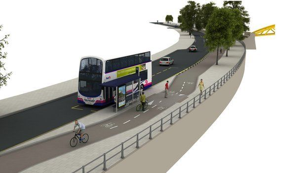 Plans for new cycleway