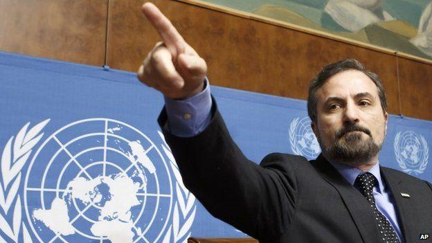 Louay Safi, spokesperson for the Syrian National Coalition
