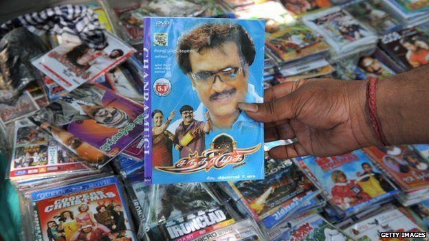 Tamil film DVD box