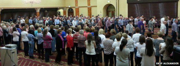 Jiving class at Tullyglass Hotel in Ballymena