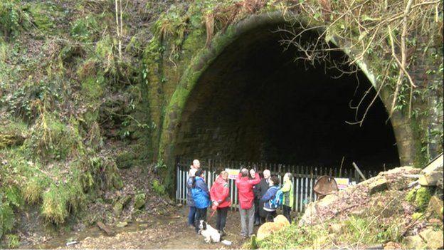 Queensbury Tunnel entrance