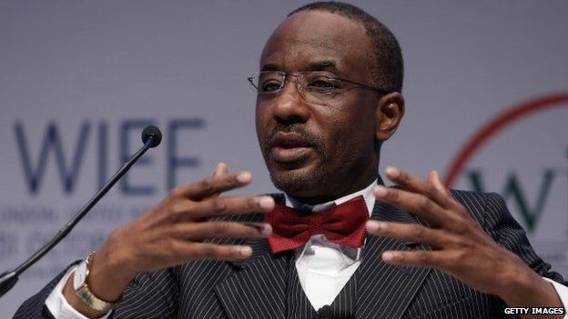 Lamido Sanusi, Nigeria's Central Bank governor, in October 2013