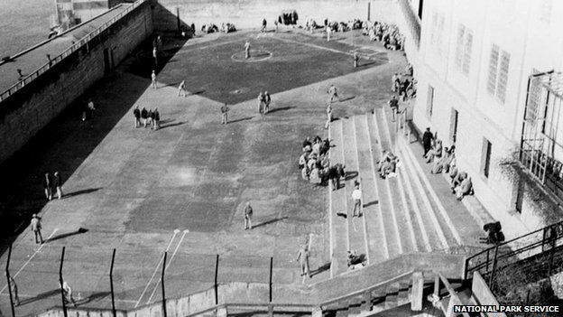 Alcatraz rec yard