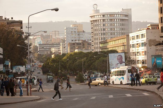 Downtown Addis Ababa, Ethiopia