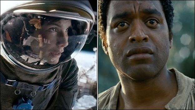 Gravity and 12 Years a Slave