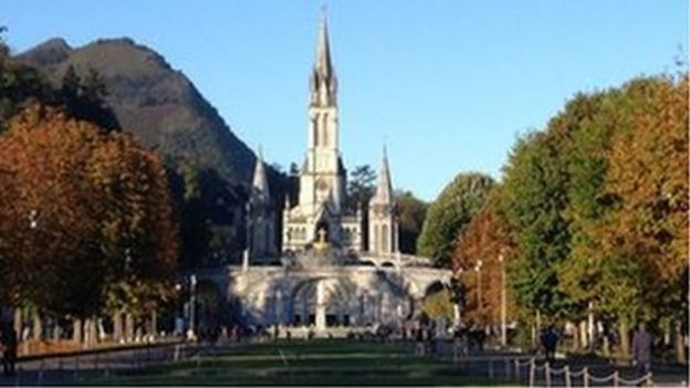 Image result for lourdes copyright