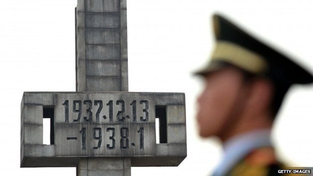 76th anniversary of the Nanjing massacre. Dec 2013