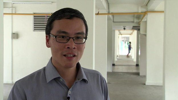 Nominated MP Laurence Lien in Singapore