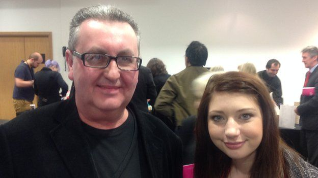 Gary Ransford and Louisa walker