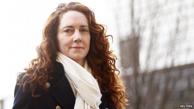 Rebekah Brooks arriving at the Old Bailey on March 4