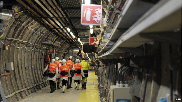 Underground lab at Bure, eastern France