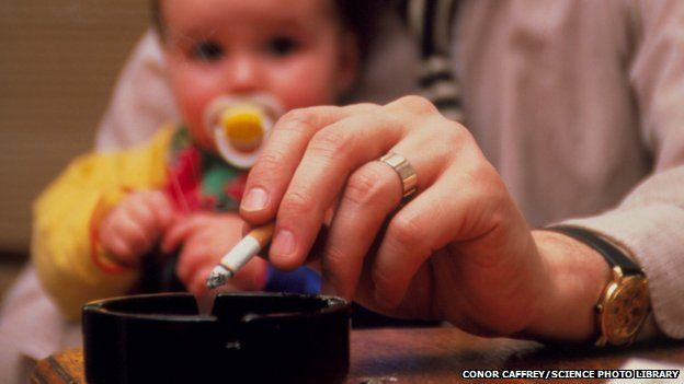 Passive smoking 'damages children's arteries' - BBC News