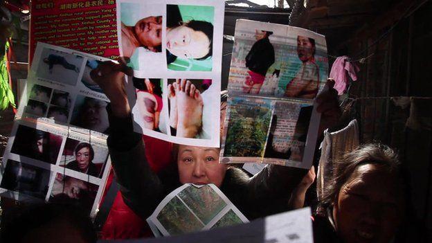 Petitioners in Beijing