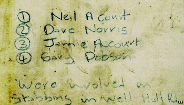 Lawrence letter