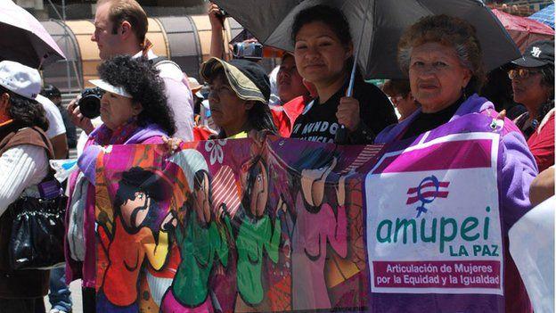 Anti-violence march in La Paz