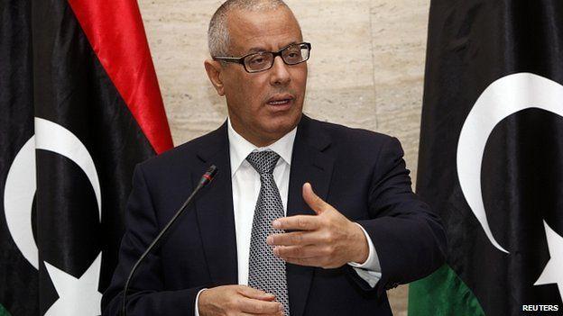 Former Libyan Prime Minister Ali Zeidan (file image)