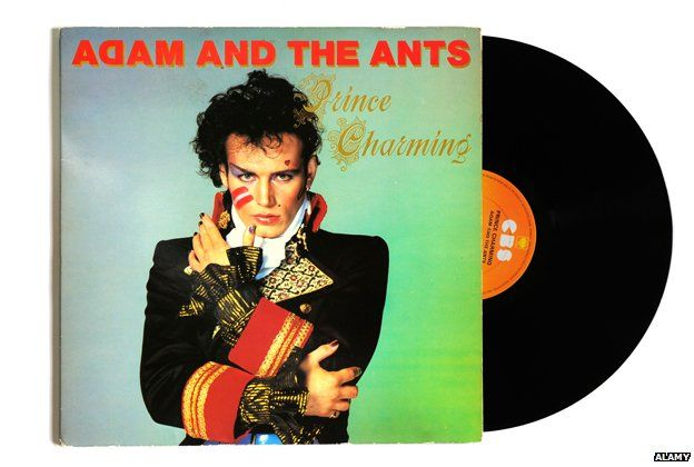Adam and the Ants: Prince Charming LP cover