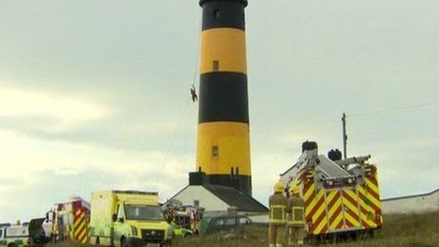 Lighthouse rescue