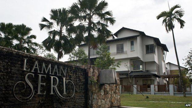 Te residential complex where missing Malaysia Airlines flight MH370 pilot Zahari Ahmad Shah lives in Shah Alam, outside Kuala Lumpur