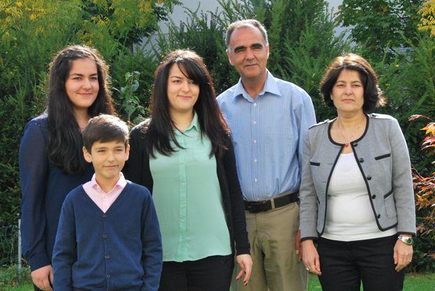 Ahad Momand And Family