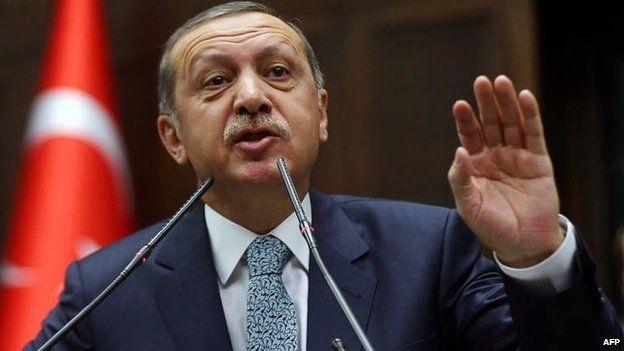 Recep Tayyip Erdogan, 25 Feb
