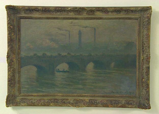 Monet - Waterloo Bridge