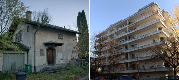 Salzburg house; block of flats in Munich