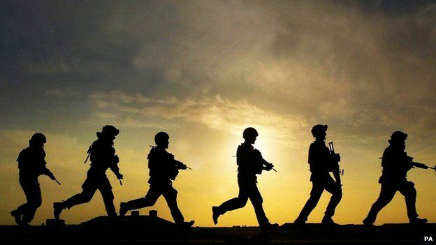 UK soldiers in Iraq (file pic)