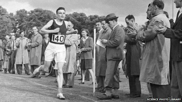 Alan Turing in a race