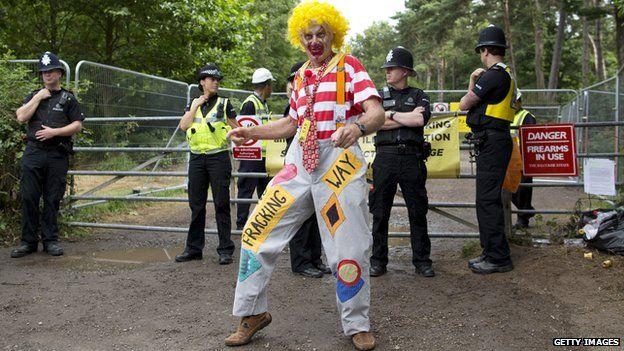 Clown at Balcombe