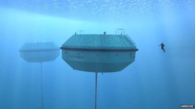 Ceto wave energy device. Pic: Carnegie