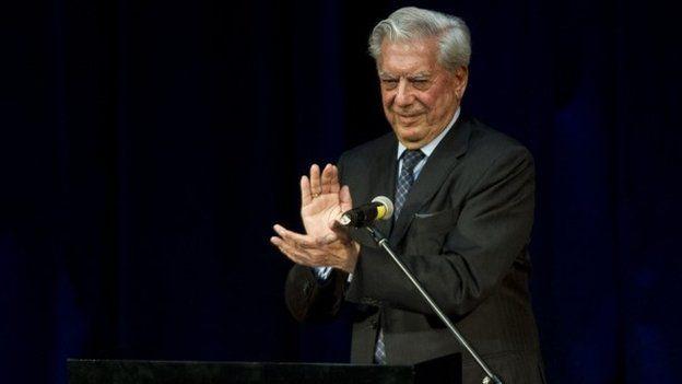 Mario Vargas Llosa, Lima, 28 March 14