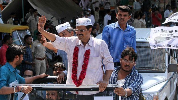 Mr Kejriwal has promised to put an end to corruption