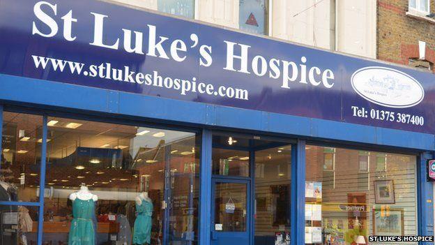St Luke's Hospice shop, Grays