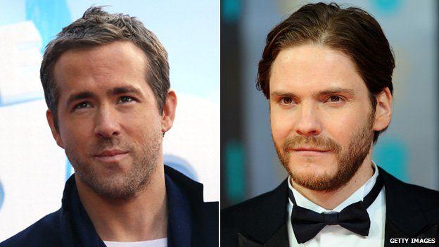 Ryan Reynolds and Daniel Bruhl