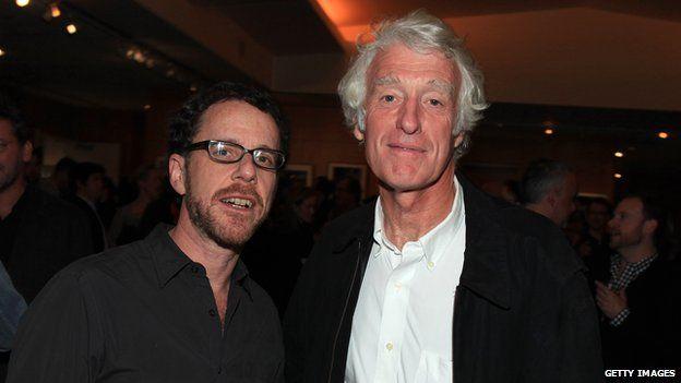 Ethan Coen, Roger Deakins at True Grit screening