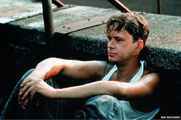 Shawshank Redemption film still Tim Robbins
