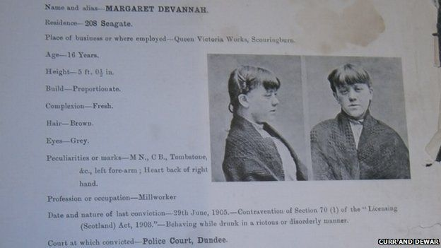 Margaret Devannah drunk form