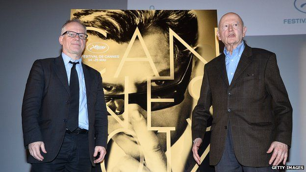 Thierry Fremaux and Gilles Jacob