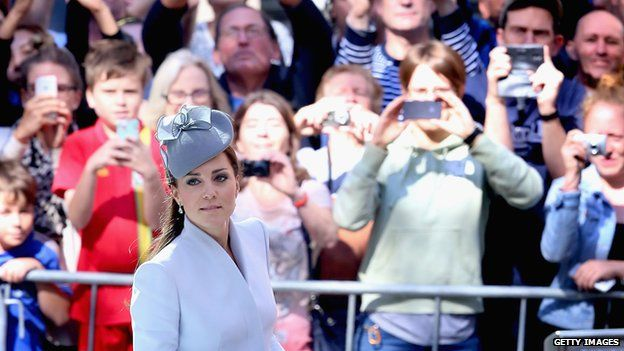 The Duchess of Cambridge in Sydney on April 20