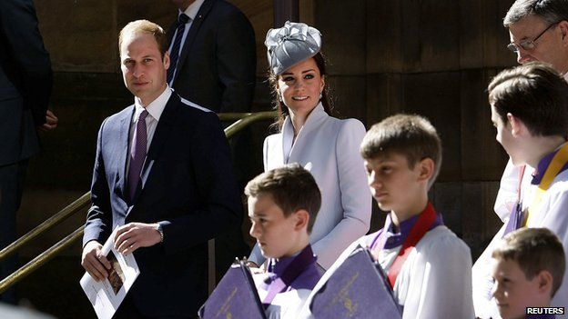 The Duke and Duchess of Cambridge in Sydney on April 20
