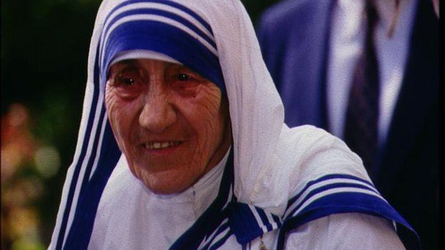 File photo: Mother Teresa
