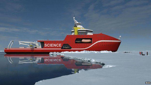 New polar ship