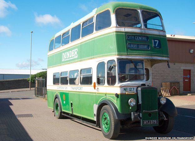 Dundee Museum Of Transport >> New Dundee Museum Of Transport Opens To The Public Bbc News