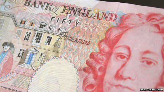 Houblon £50 note