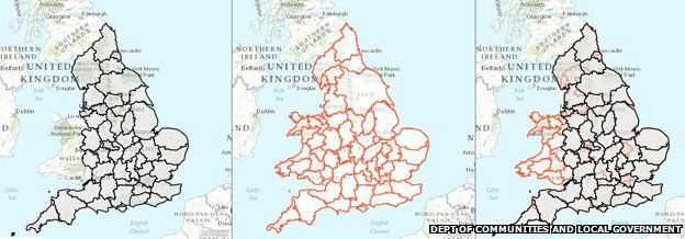 The Baffling Map Of England S Counties Bbc News