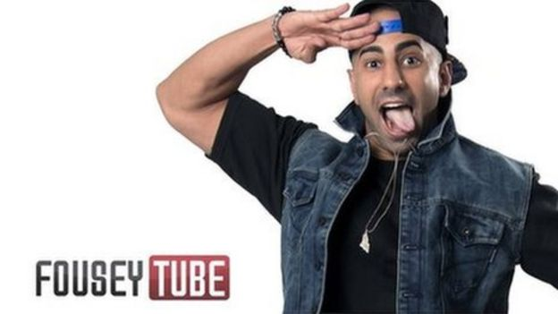 BBCtrending  How FouseyTUBE became a YouTube star - BBC News 742f7a70a7a7