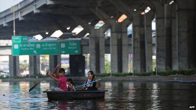 Flooding in Bangkok, 2011